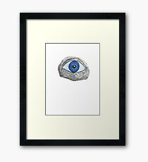 Greek Eye Framed Print