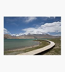 Lake Kara Kul Photographic Print