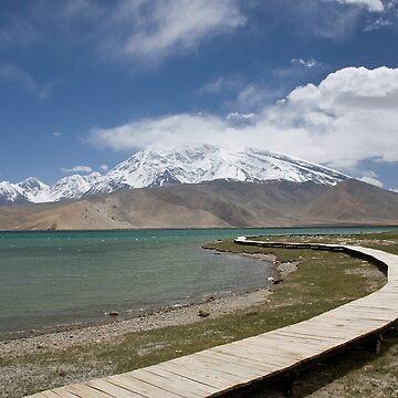Lake Kara Kul by Scully