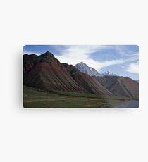 Colourful Mountains Metal Print