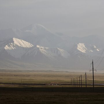 Pamirs at dusk by Scully