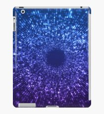 Sci Fi Abstract Outer Space Universe Blue iPad Case/Skin