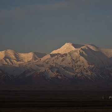 Dawn on the Pamirs at Sary Tash by Scully