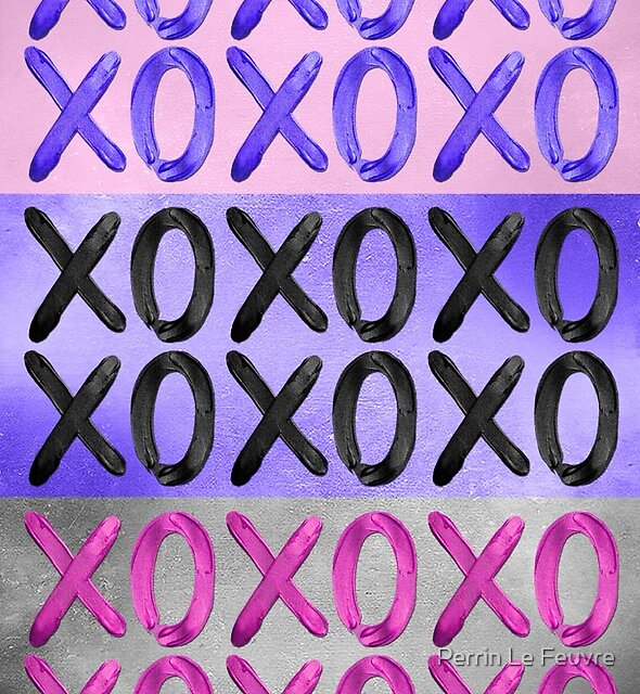 Beautiful XO's  by Perrin Le Feuvre