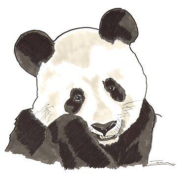 Spirit of Panda - Shamanic Art by Iank-as14
