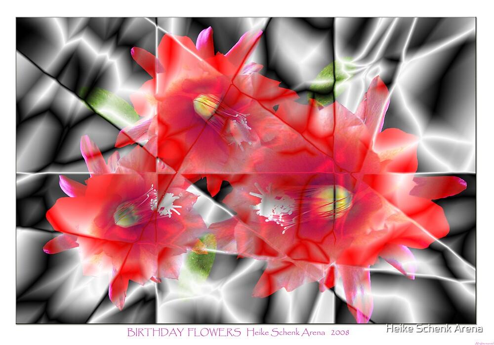 Birthday flowers by Heike Schenk Arena