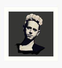 Depeche Mode : Martin Gore 1990 Art Print
