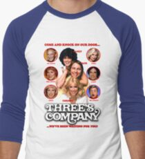 THREE'S COMPANY Come and knock on our door T-Shirt