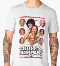 THREE'S COMPANY Come and knock on our door Men's Premium T-Shirt