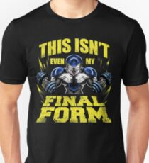 this isn't even my final form! Beat Earth God of Destruction T-Shirt