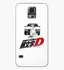 Initial D Takumi AE86 (police noire) Coque et skin Samsung Galaxy