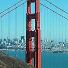 Golden Gate Bridge - North Side by Barrie Woodward