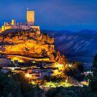 Biar castle illuminated by Ralph Goldsmith