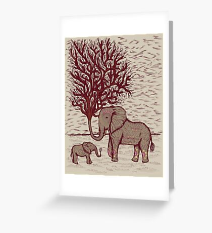 THE TALL TALE OF THE ELETRUNKS Greeting Card
