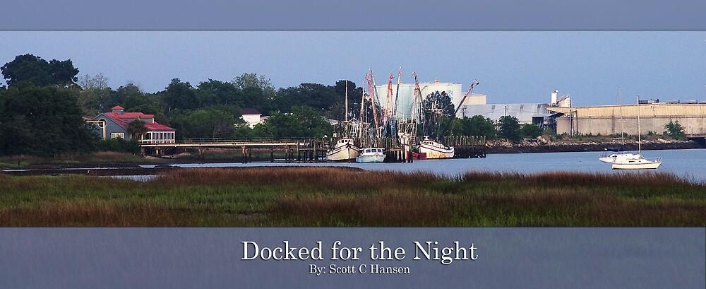 Docked for the Night by Scott Hansen