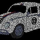 Car Volkswagen Beetle Classic by Karotene