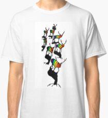 Rainbow deer by Susanne Schwarz Classic T-Shirt