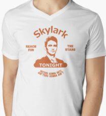 Skylark Tonight Mens V-Neck T-Shirt