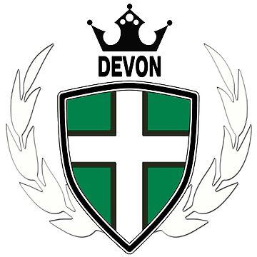 Devon Flag by lemmy666