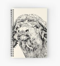 Cape Buffalo Bull, Close Up | African Wildlife Spiral Notebook