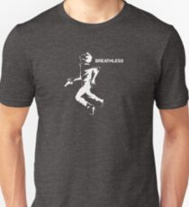 Breathless man Unisex T-Shirt