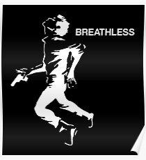 Breathless man Poster