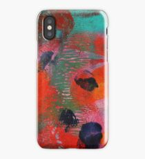 Abstract Work Number One iPhone Case/Skin