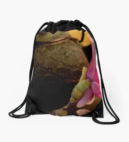 Being in the Moment Drawstring Bag