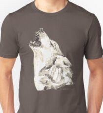 Spirit of Wolf - Shamanic Art T-Shirt
