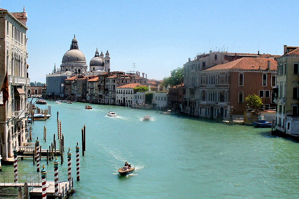 Grand Canal, Venice by Lisa Kent