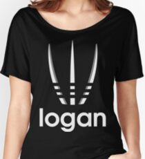 logan style movie parody logo Women's Relaxed Fit T-Shirt