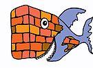 BlockHead Fish  by Juhan Rodrik