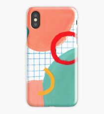 Abstract figures iPhone Case