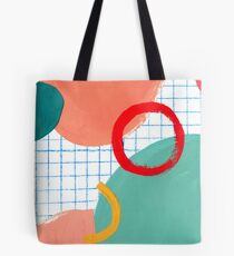 Abstract figures Tote Bag