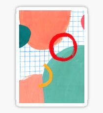 Abstract figures Sticker