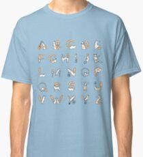 Circus cat alphabet Classic T-Shirt