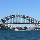 Sydney Harbour Bridge by David Thompson