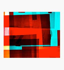 Red Layer Photographic Print