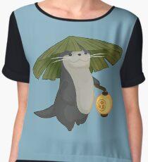Odder Otter Women's Chiffon Top