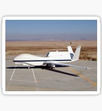 The Global Hawk unmanned aircraft. Sticker