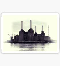 Battersea Power Station Vintage Sticker