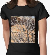 Bird on Winter Tree 2 T-Shirt