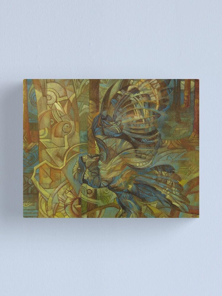 Alternate view of owl Canvas Print