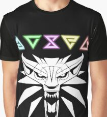Wolf Signs White Graphic T-Shirt