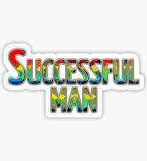 Successful man Sticker