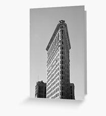 Flatiron building 1 - New York Greeting Card