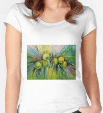 Juicy apples Women's Fitted Scoop T-Shirt