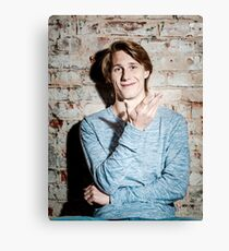 Young attractive guy Canvas Print
