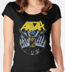 Aaliyah Heavy Metal Women's Fitted Scoop T-Shirt