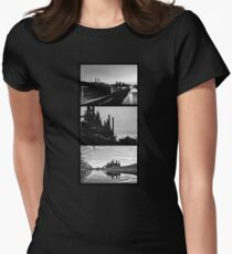 A Blast Furnace Triptych Women's Fitted T-Shirt